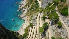 Capri Via Krupp Amalfi Coast Trail Mandala Trail Running Experience Italy Holiday Trip