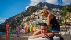 Massage Positano Amalfi Coast Trail Mandala Trail Running Experience Italy Holiday TripPA
